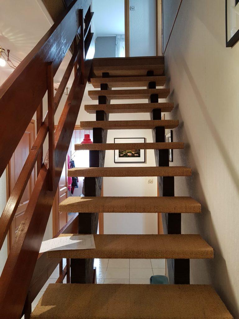 renovation escalier bois typique ancien region havre par habillage en normandie 03 garde corps