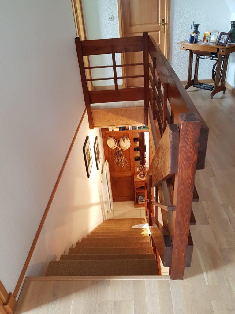 renovation escalier bois typique ancien region havre par habillage en normandie 05 rambarde