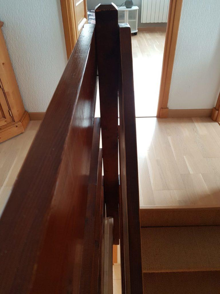 renovation escalier bois typique ancien region havre par habillage en normandie 08