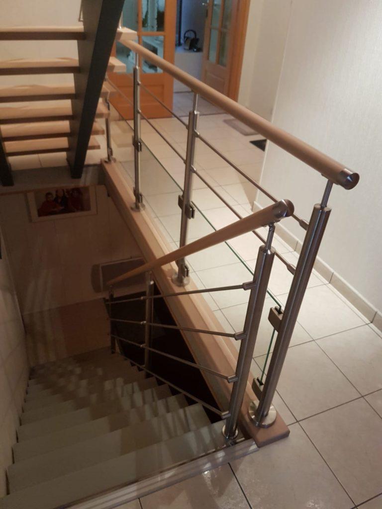 renovation escalier bois typique ancien region havre par habillage en normandie 17 havre seine maritime rouen