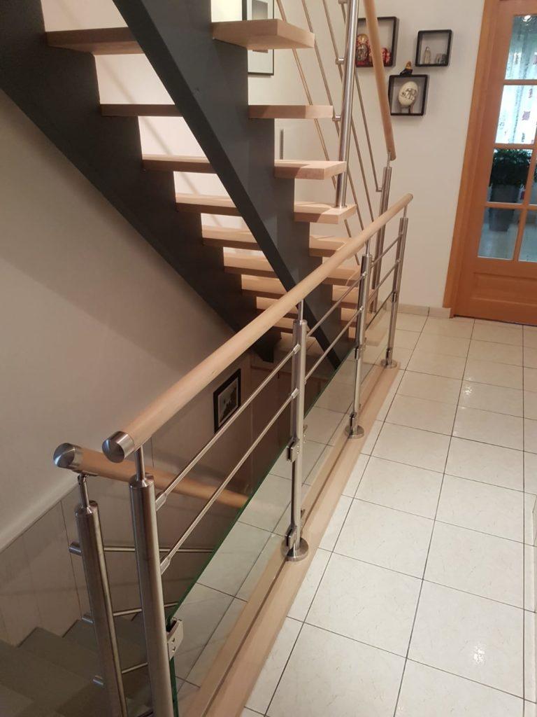 renovation escalier bois typique ancien region havre par habillage en normandie 18 garde corp