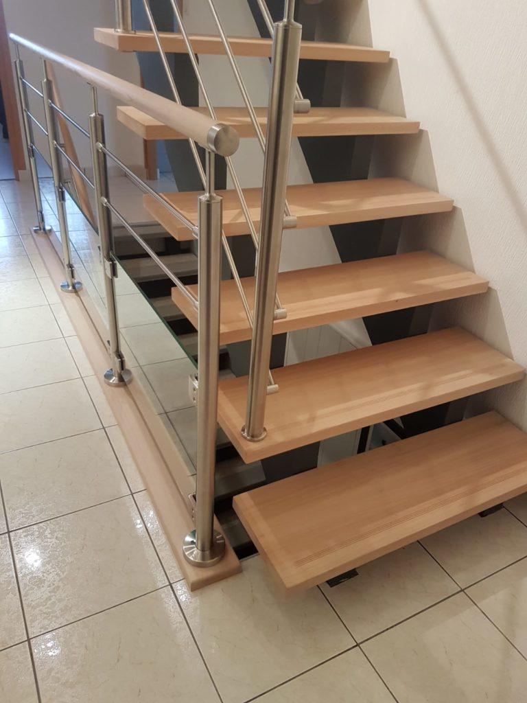 renovation escalier bois typique ancien region havre par habillage en normandie 19