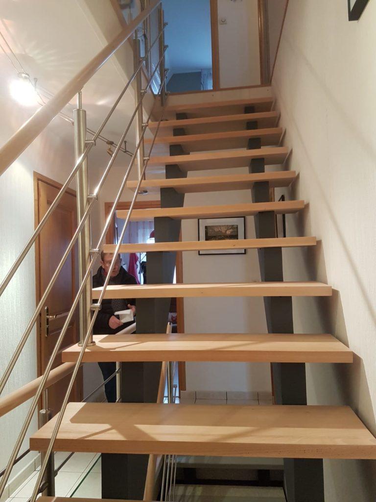 renovation escalier bois typique ancien region havre par habillage en normandie 20 marches