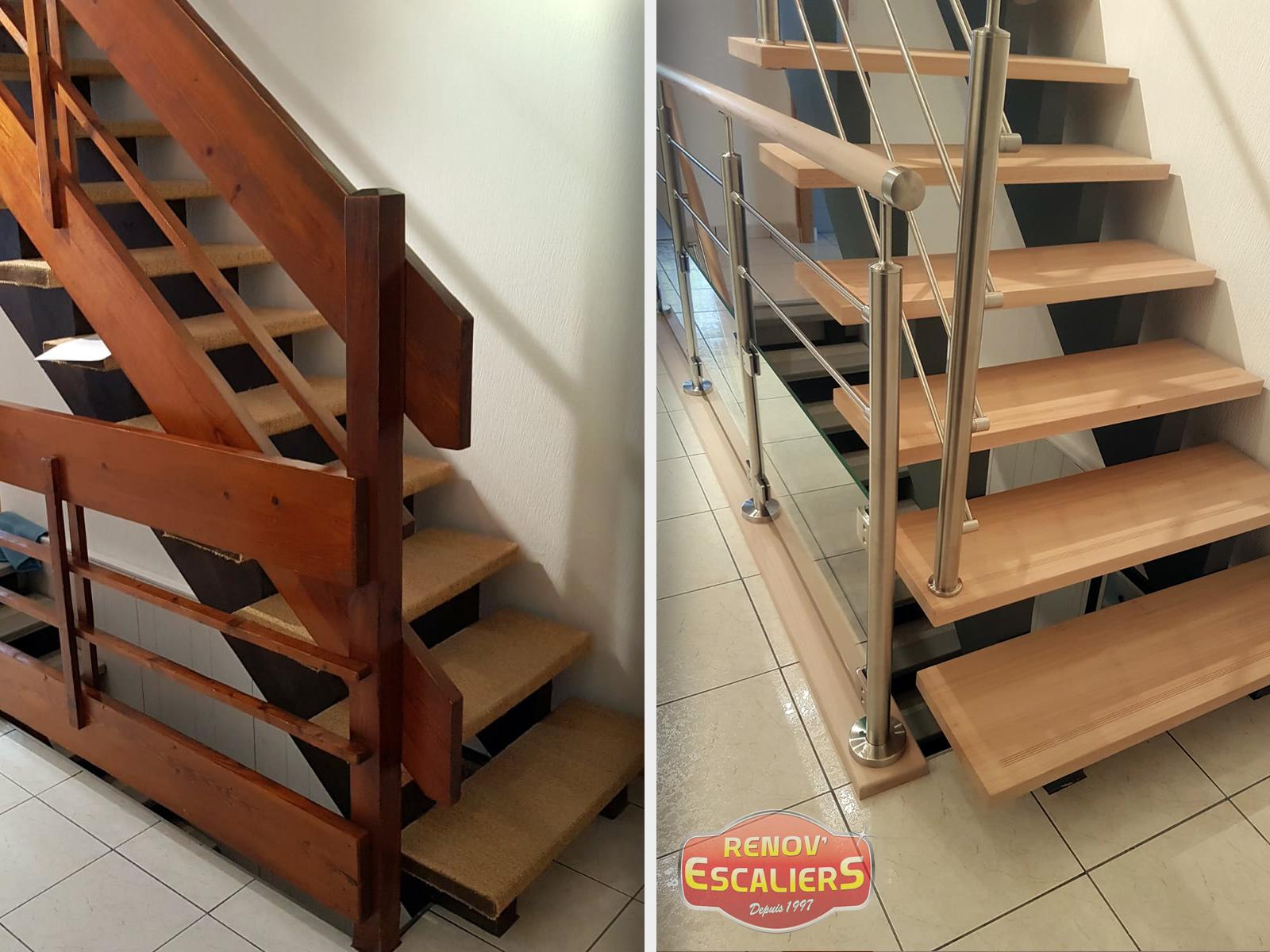 Le Chantier Reno Du Mois L Escalier Typique Du Havre Et Sa